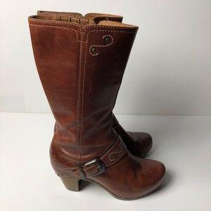 DANSKO Leather Boots Western Style